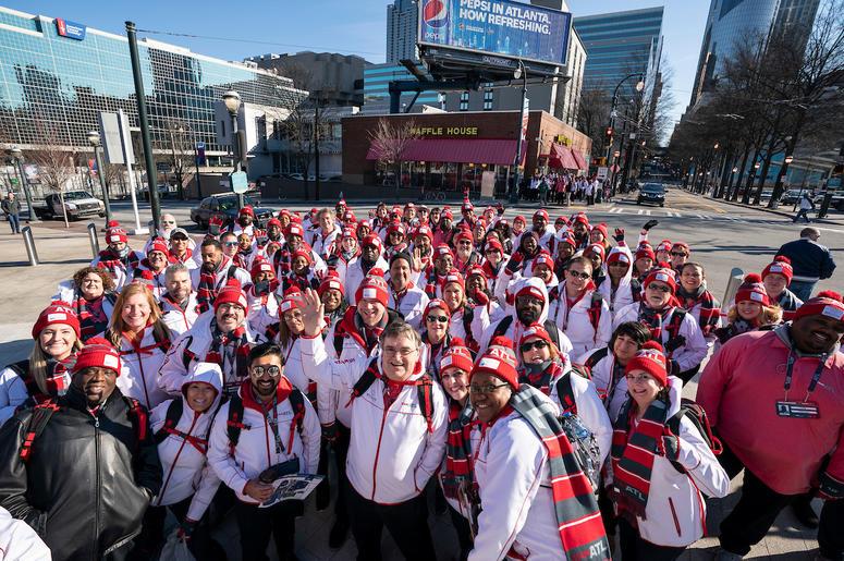 ATL Super Bowl 53 Volunteers