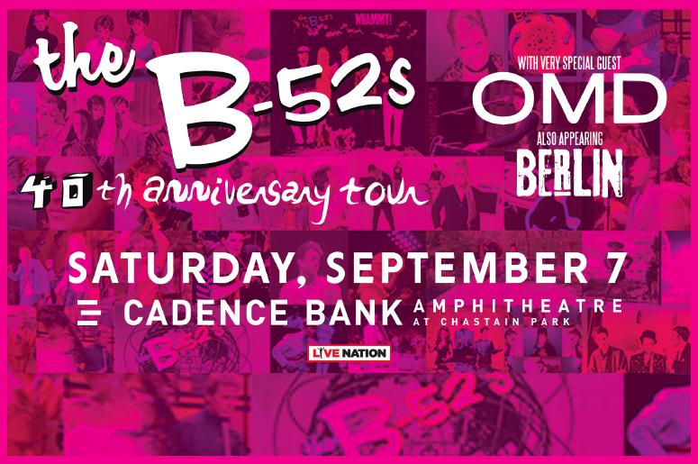 B-52's Cadence Bank Amphitheatre