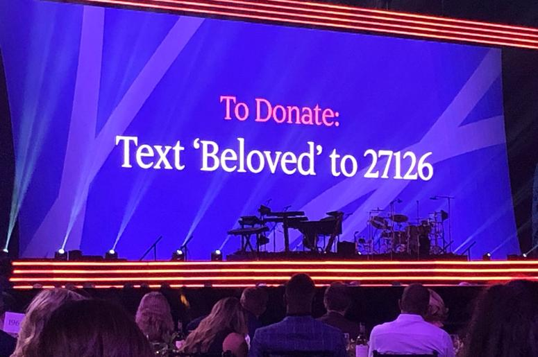 Text BELOVED to 27126