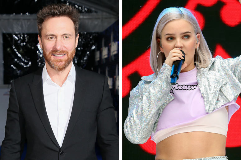 3/1/2018 - David Guetta attends The Global Awards, a brand new awards show hosted by Global, the Media & Entertainment group, at London's Eventim Apollo Hammersmith. / 6/9/2018 - Anne-Marie on stage during Capital's Summertime Ball with Vodafone at Wemble