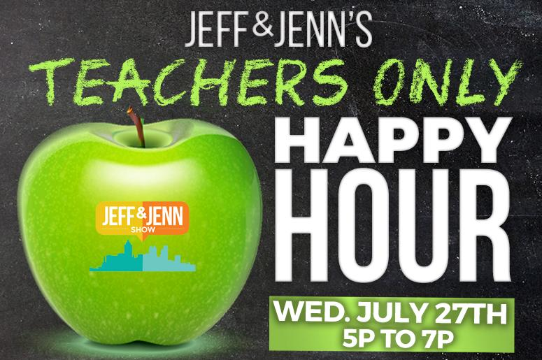 Jeff and Jenn's Teachers Only Happy Hour