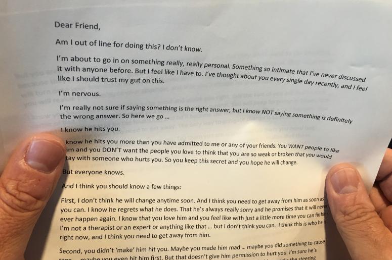 Jeff's Letter