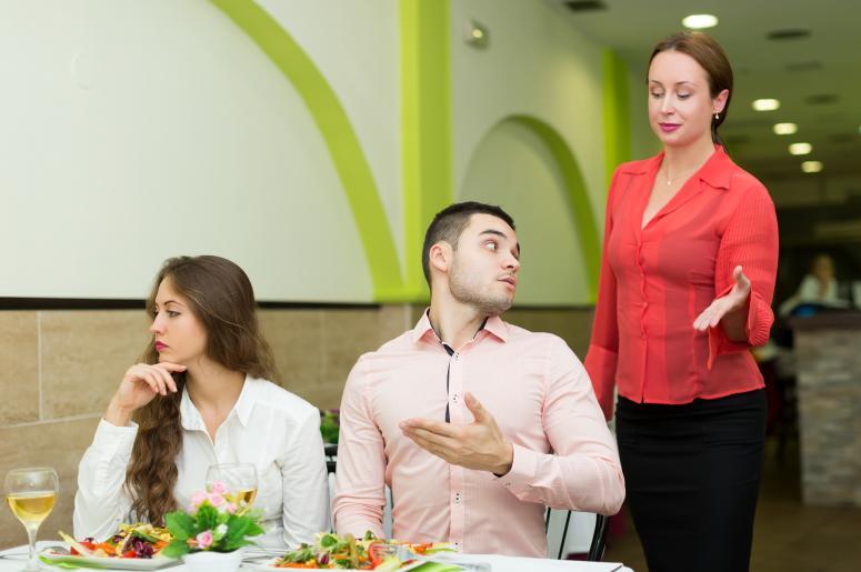 Bad Food at Restaurant