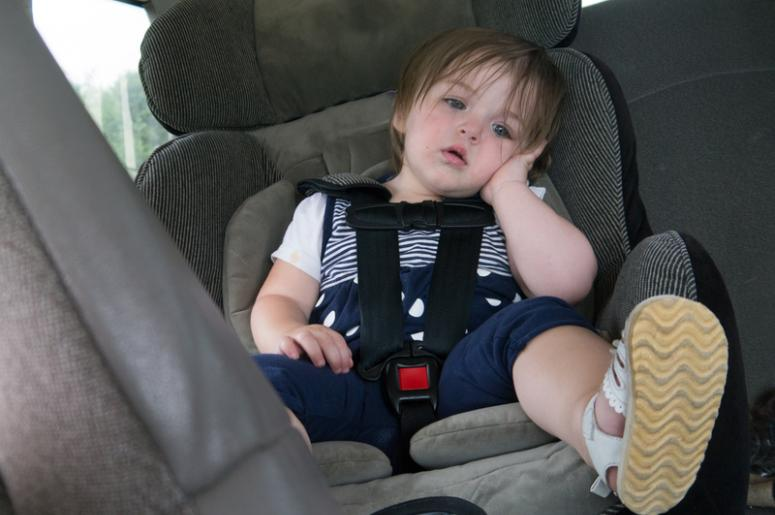 Kid in Car Seat
