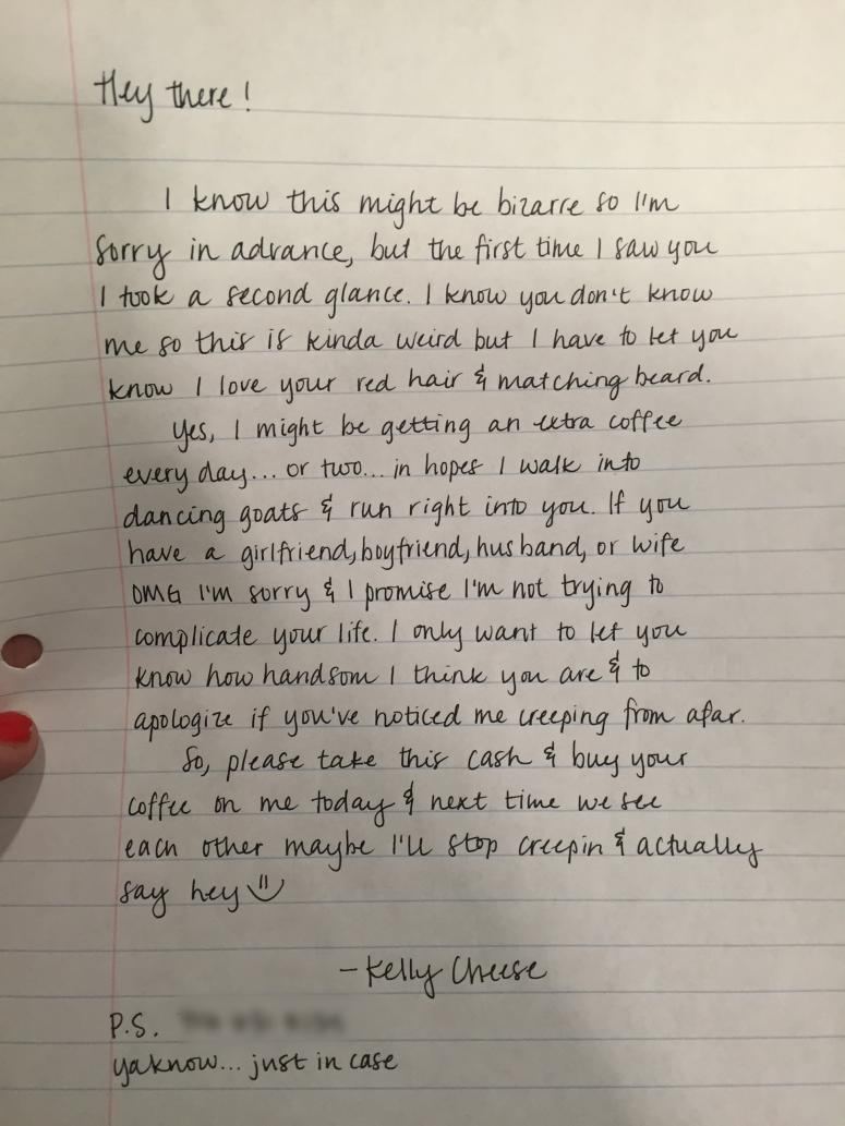Kelly Cheese's Letter to Red-Headed Unicorn