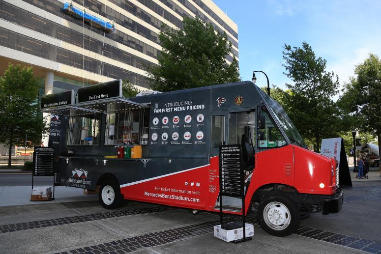 Mercedes-Benz Stadium Food Truck