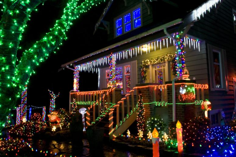 Christmas Card Lane.See Christmas Lights Here In San Diego Sunny 98 1 Fm