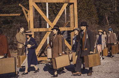 """This undated image released by AMC shows a scene from """"The Terror: Infamy."""" The second season of an AMC-TV drama series scheduled to premiere Monday, Aug. 12, 2019, follows the internment of Japanese Americans during World War II and a number of bizarre d"""