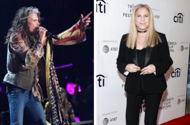 Steven Tyler and Barbra Streisand