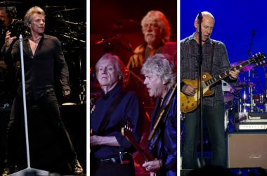 Bon Jovi, The Moody Blues, DIre Straits