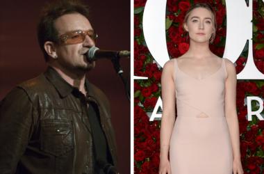 U2 and Saoirse Ronan