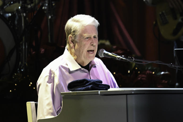 Brian Wilson in concert at the Hard Rock Event Center