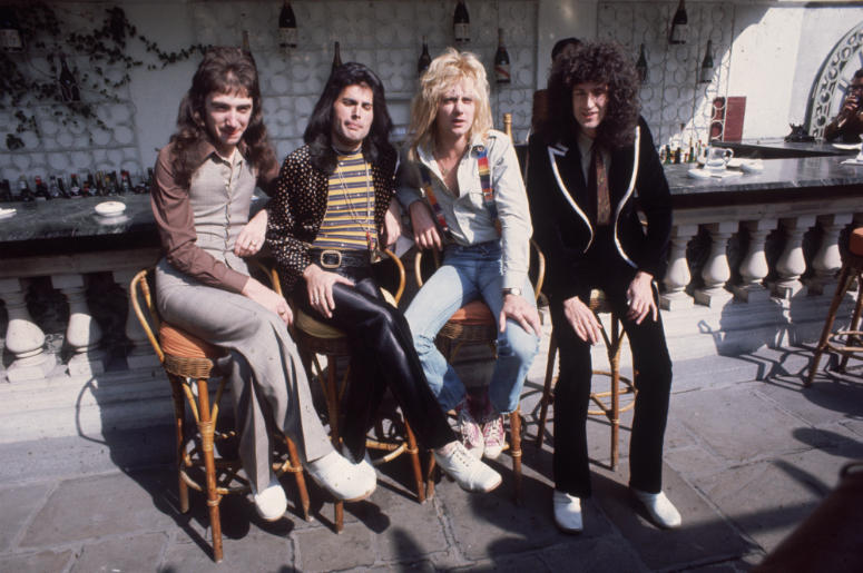 Queen in 1976