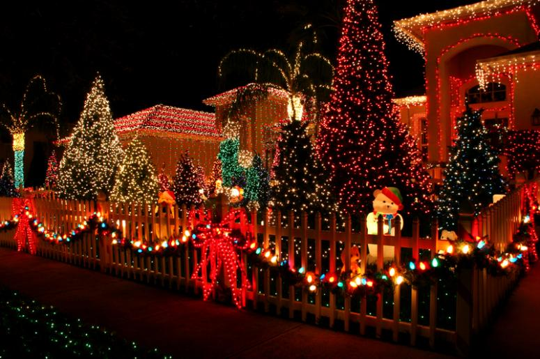 San Diego Christmas Lights.Great Map Of Neighborhoods With Holiday Lights Sunny 98 1 Fm