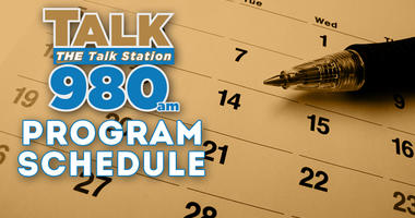 Talk 980 Program Schedule