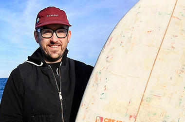 AP_Newsroom_Korey_Nolan_Vissla_Creators_Innovators_Upcycle_Contest_Coffee_Cup_Surfboard