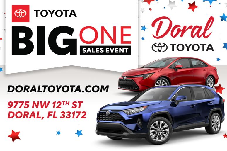 Doral Toyota $50,000 Prize Vault