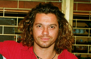 Michael Hutchence, lead singer of INXS July, 1993 in London, England