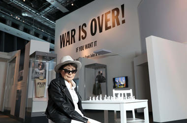 Yoko Ono at the Double Fantasy