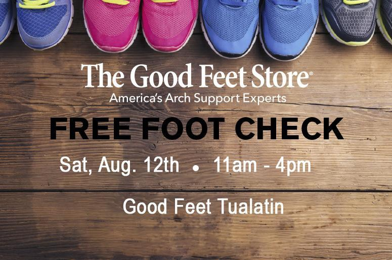 2634469420 Treat your feet to a free Foot Check! | The Wolf Online