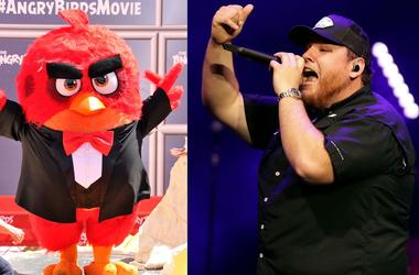 Angry Birds and Luke Combs