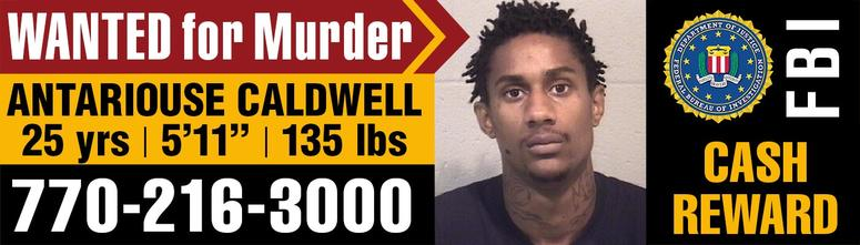 """Antariouse Caldwell, aka """"Phat"""", is considered armed and dangerous"""