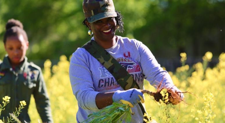 1Day1Thing Earth Day 2019 Metro Atlanta Urban Farm