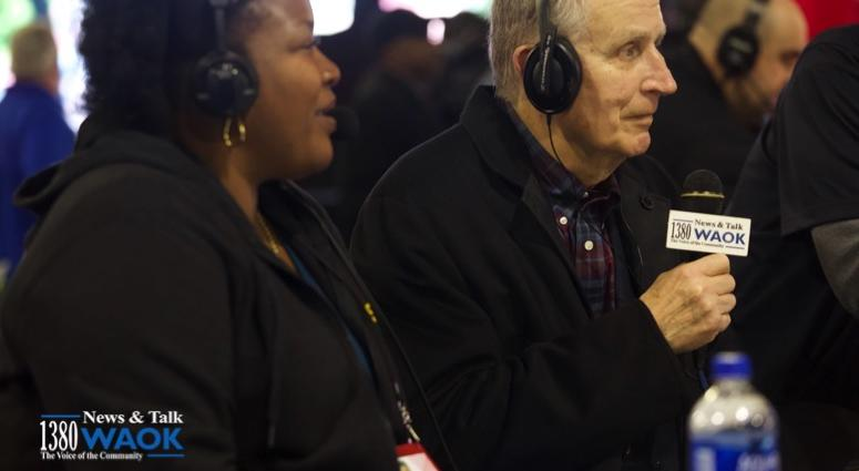 Rashad Richey at Super Bowl LIII