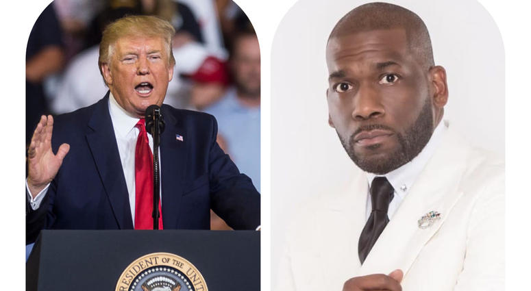 "Pastor Jamal Bryant calls President Trump an ""embarrassment"" after attacks on Baltimore, MD"