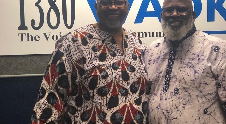 Derrick Boazman with Akinyele Umoja