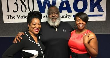 Dr. F Keith Slaughter with Elizabeth Wilson & Sonya Toomer