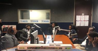 Derrick Boazman with Harvard Diversity Project Debate Team