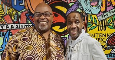 Derrick Boazman with Freddie Jackson