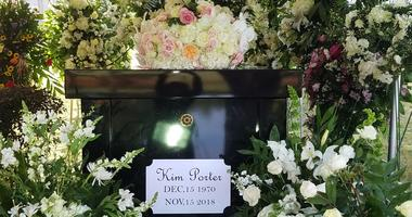 Former model and actress Kim Porter was laid to rest Saturday in Columbus GA