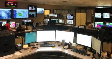 National Weather Service Meteorologists in Peachtree City GA keep an eye on Hurricane Michael