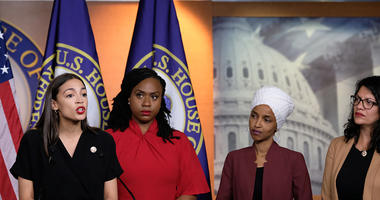 U.S Rep. Alexandria Ocasio-Cortez, speaks in Washington D.C.