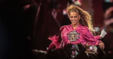 Apr 21, 2018; Indio, CA, USA; Beyonce performs during the Coachella Valley Music and Arts Festival at Empire Polo Club. Mandatory Credit: Richard Lui/The Desert Sun via USA TODAY NETWORK