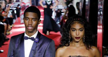 Christian Combs and Lori Harvey Fashion Week