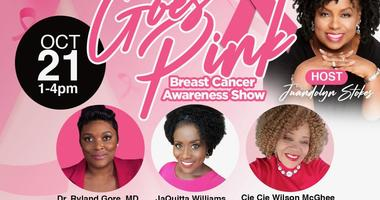 Let's Talk and Go Pink for Breast Cancer Awareness Month