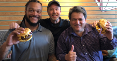 """Try the """"Hochman Burger"""" at Tucker Dukes Lunchbox"""