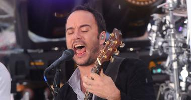 """Dave Matthews of the The Dave Matthews Band performs on NBC's """"Today"""" Show held at Rockefeller Center."""