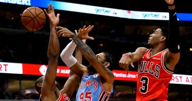 Hawks Beat Bulls In Rematch After Marathon Game