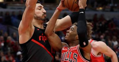 Trail Blazers Beat Short-Handed Bulls, 118-98