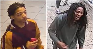 Police are looking to identify and locate two men who beat a security guard outside of a McDonald's in the Gold Coast Sunday on the Near North Side.