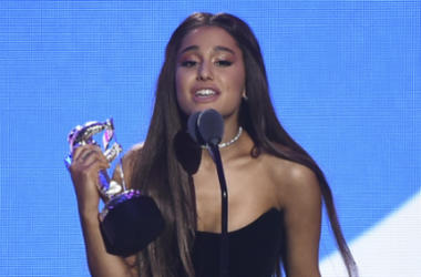 Ariana Grande attends the 2018 MTV Video Music Awards at Radio City Music Hall