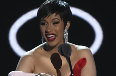 NEW YORK CITY - AUGUST 20: Cardi B performs on the 2018 MTV Video Music Awards at Radio City Music Hall on August 20, 2018 in New York City.