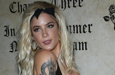 28 July 2018 - Las Vegas, NV - Halsey. Halsey Hosts Playboy's Midsummer Night's Dream at Marquee Nightclub inside The Cosmopolitan of Las Vegas.