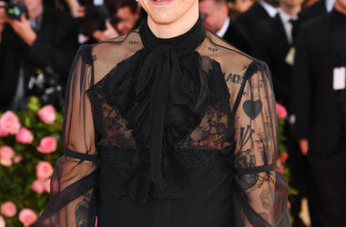 Harry Styles attends The 2019 Met Gala Celebrating Camp: Notes on Fashion at Metropolitan Museum of Art on May 06, 2019 in New York City.