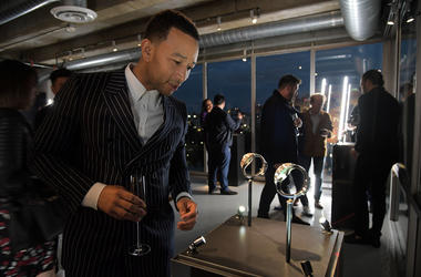 LOS ANGELES, CA - APRIL 04: John Legend attends the Code 11.59 By Audemars Piguet Los Angeles Launch at American Cement Building on April 4, 2019 in Los Angeles, California.