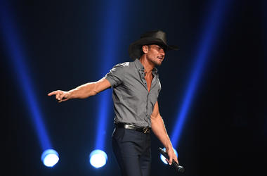 Tim McGraw performs at BB&T Center